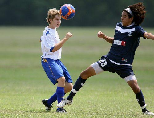 Atlet remaja yang mau bertanding namun takut kalah
